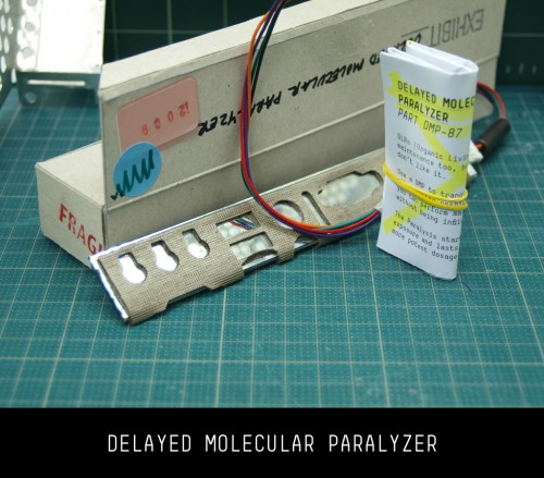 Delayed Molecular Paralyzer (unboxed)