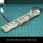 Delayed Molecular Paralyzer