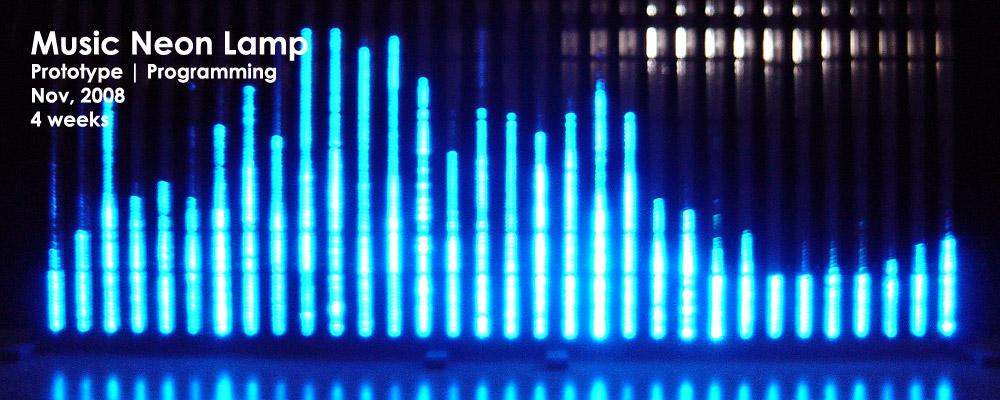 music neon lamp